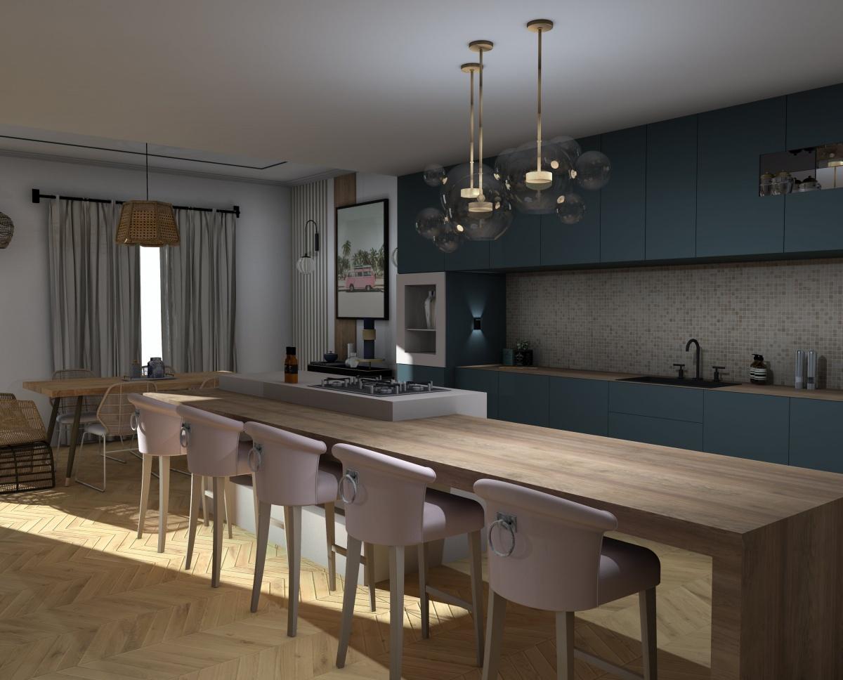 Appartement Bordeaux : cuisine
