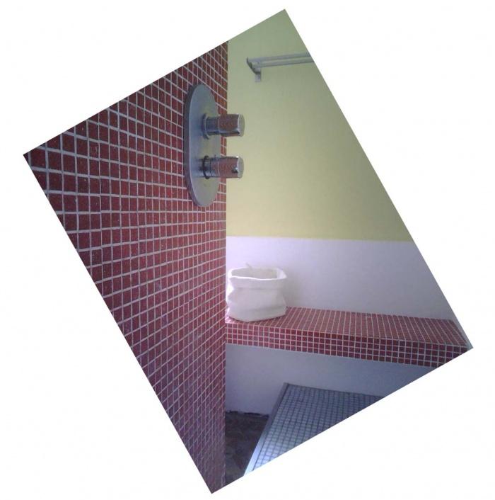 Rénovation-création salle de bain : a bègles sdb détail