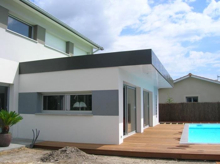 Extension d'une maison contemporaine