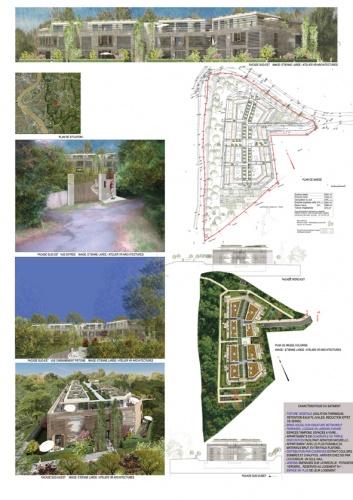 Immeuble d'habitation de 34 logements collectifs : image_projet_mini_20964