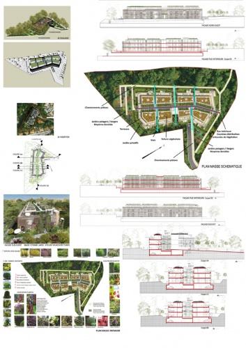 Immeuble d'habitation de 34 logements collectifs : avra_logements collectifs_floirac_planche2 A42