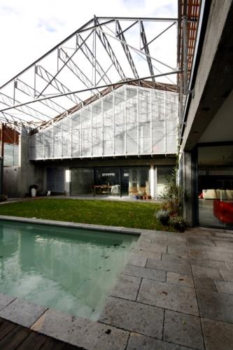Transformation d'une usine : Jardin LOT B 2