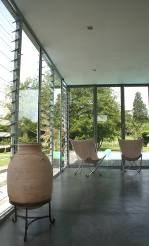 Extension vitrée : i
