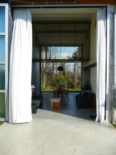 Maison Andersson / Delay : rideaux