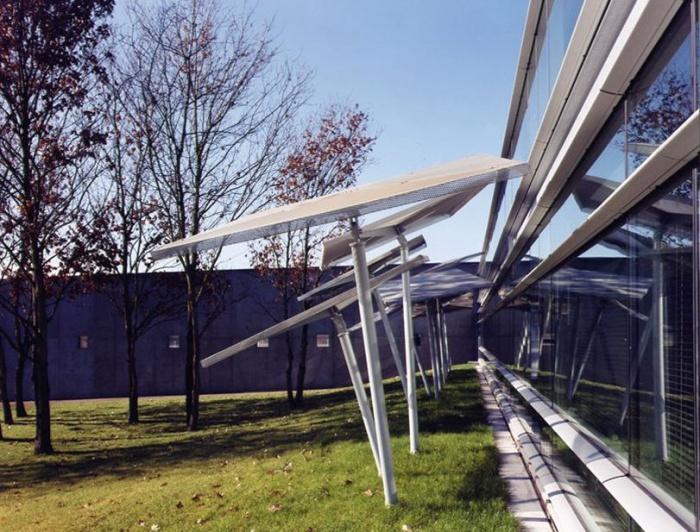 AGENCE EDF_GDF : parasols