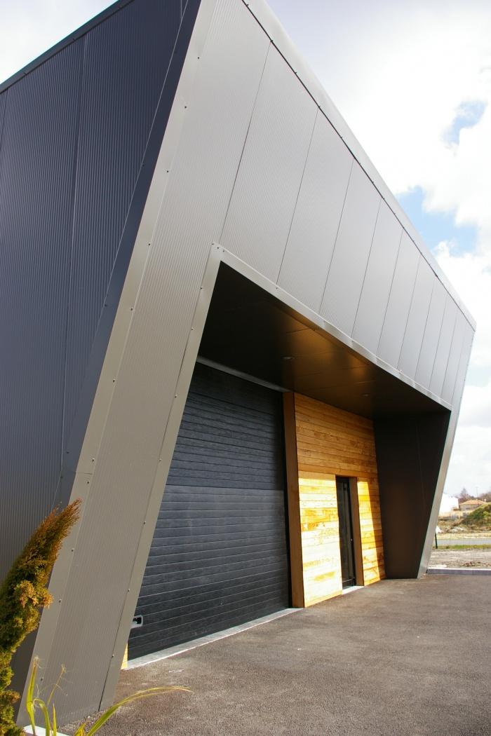 Construction d'un entrepôt et bureaux : 41-002