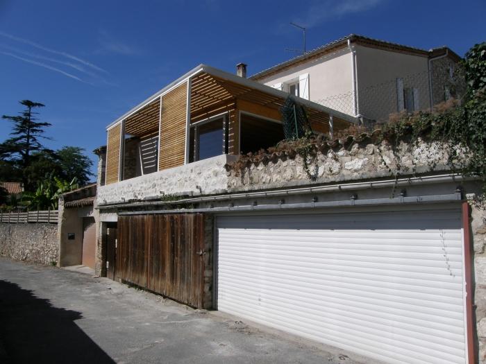 Extension d'été : Vue depuis la rue de Recluse-01