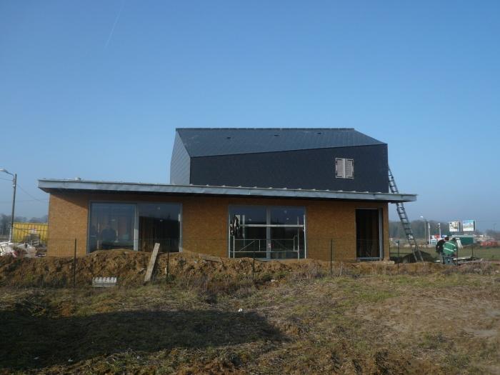 Construction d'une maison individuelle BBC : chantier 1