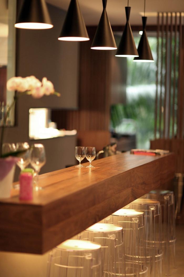 Restaurant Gastronomique Français : Espace bar