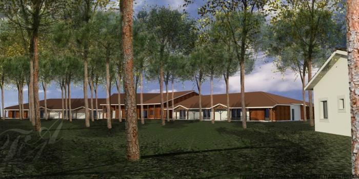 Hôtel 2* de 28 chambres + maison de gardien