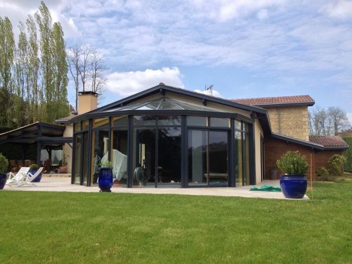 Rénovation et extension d'une villa