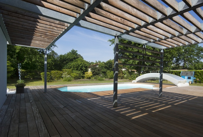 Extension d'une maison d'habitation et aménagements extérieurs : Aménagements extérieurs