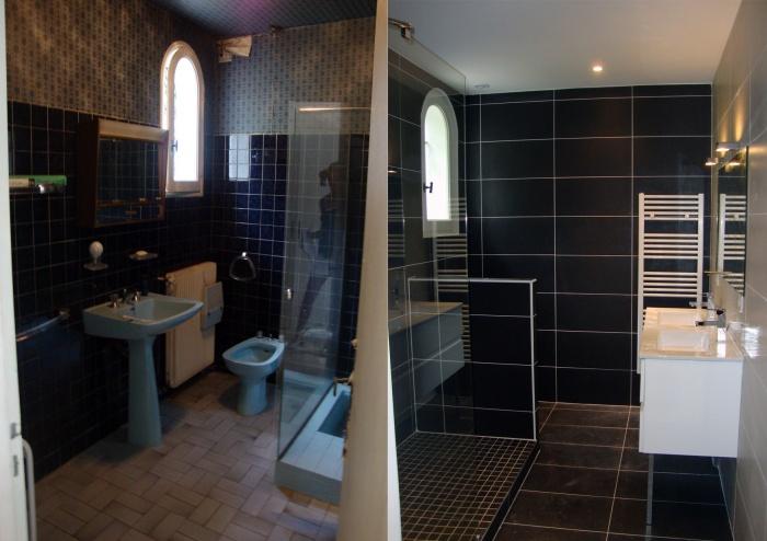 Rénovation compléte d'une maison : Sdb
