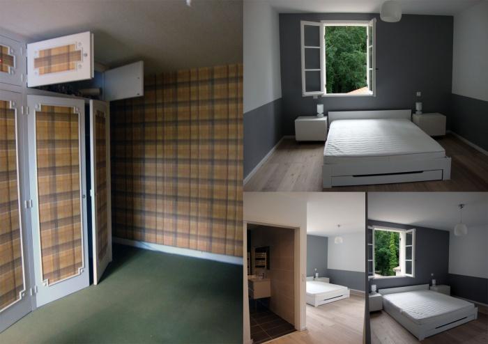 Rénovation compléte d'une maison : chambre 1