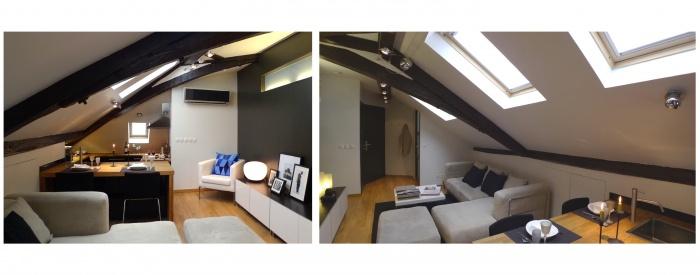 Marais studio et T2