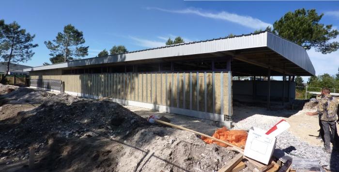 Bâtiment commercial : Tallaris chantier 2