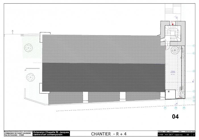 Réhabilitation et extension du centre d'art contemporain La Chapelle St-Jacques : 130225CHANTIER Chapelle SJ v2012_Page_06