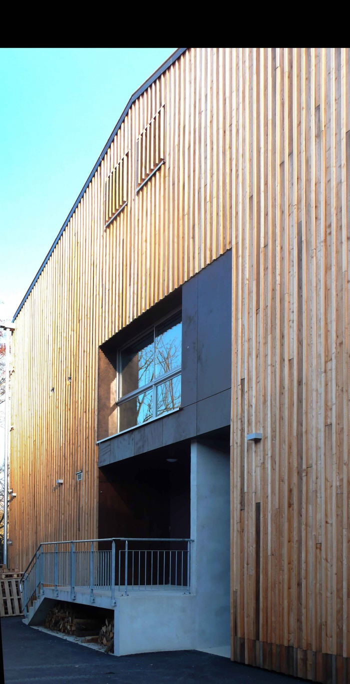 Réhabilitation des thermes d'Encausse en lieu de résidence pour les arts publics