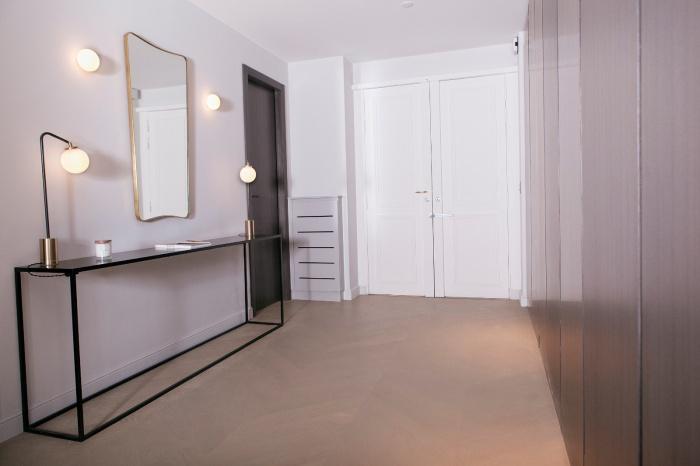 Appartement Parisien : entrée