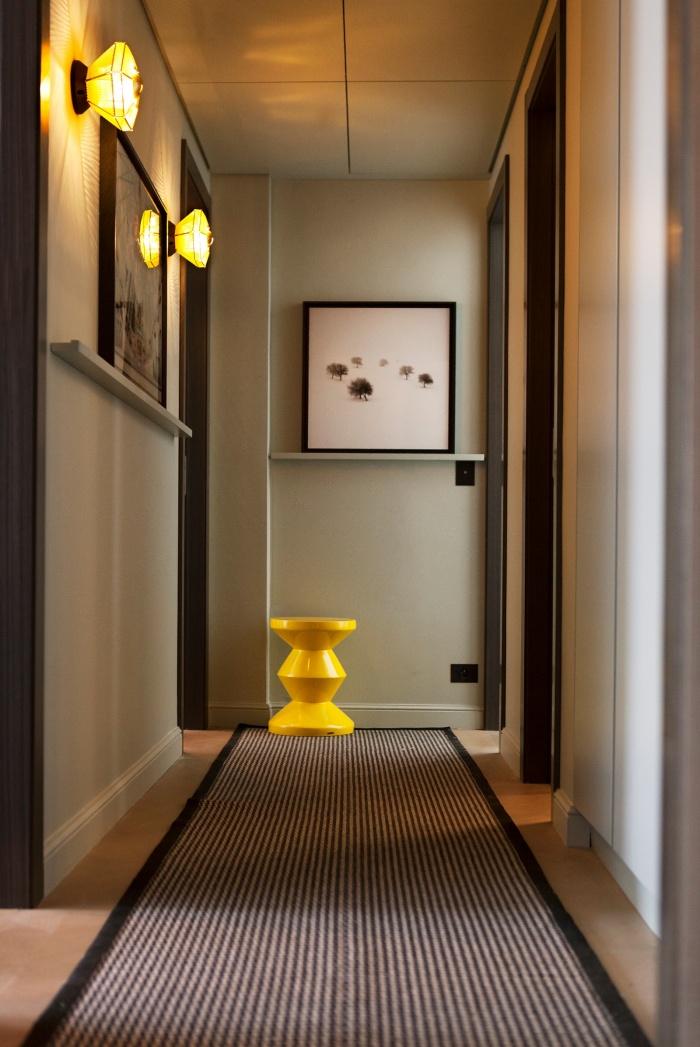 Appartement Parisien : couloir