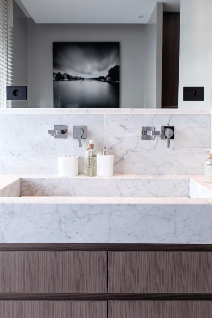 Appartement Parisien : salle de bain