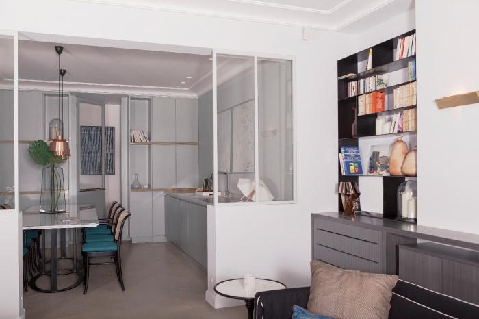 Appartement Parisien : salle à manger