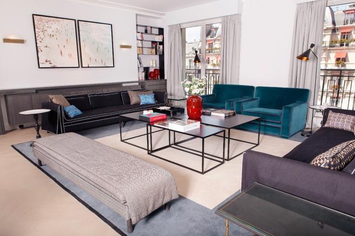 Appartement Parisien : salon