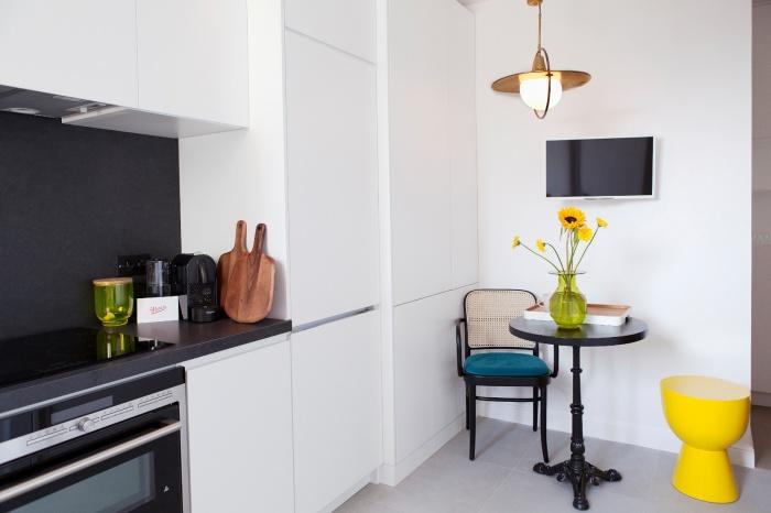 Appartement Parisien : cuisine