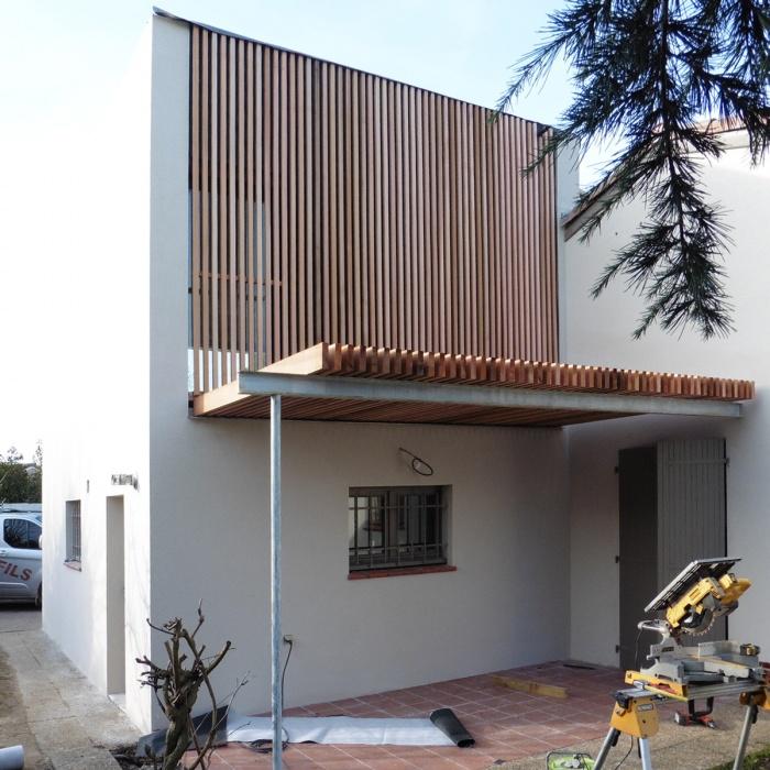 Surélévation d'une maison - Toulouse : P1000953-2