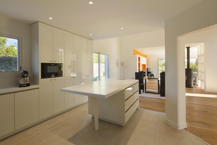 Extension et réaménagement d'une maison d'habitation : cuisine 3
