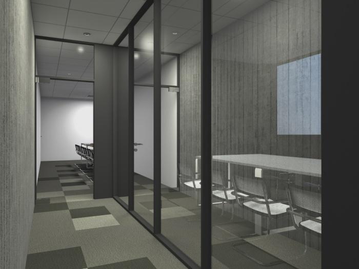 Réaménagement d'un plateau de bureaux seventies à Bordeaux 2017 : v 7