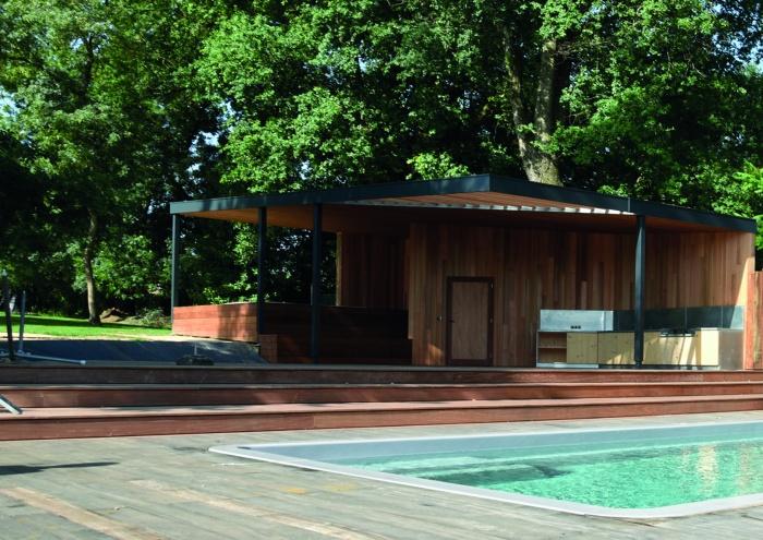 Création d'un Pool House